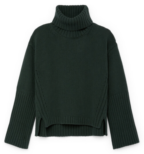 G. Label Yang High-Cuff Turtleneck Sweater