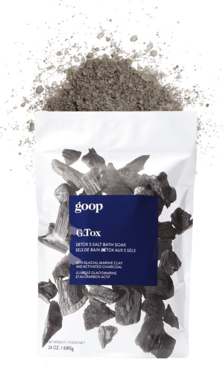 goop Beauty G.Tox Detox 5 Salt Bath Soak