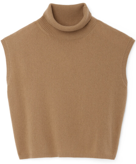 G. Label Juliet Mock-Neck Sweater Tank