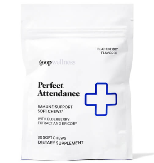 goop Wellness Perfect attendence