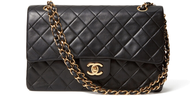 What Goes Around Comes Around Chanel 2.55 Lambskin Bag