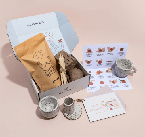 Crockd Ceramic clay kit
