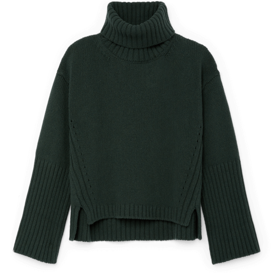 Yang High-Cuff Turtleneck Sweater
