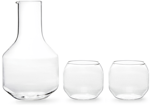 R+D Design Lab Carafe & Glasses Set