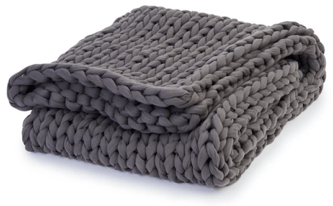 Bearaby Cotton Napper Weighted Blanket – 15 lbs