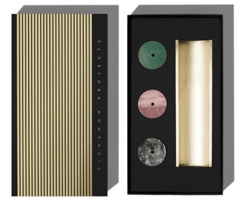 Cinnamon Projects burner + incense set