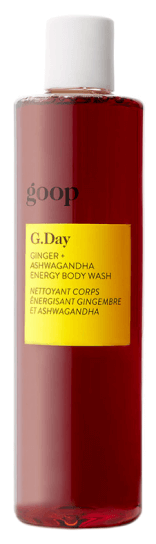 goop Beauty G.Day Ginger + Ashwagandha Energy Gel de baño