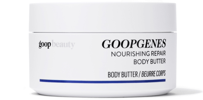 goop Beauty NOURISHING REPAIR BODY BUTTER