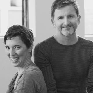Sita Hagenburg and John Kelly