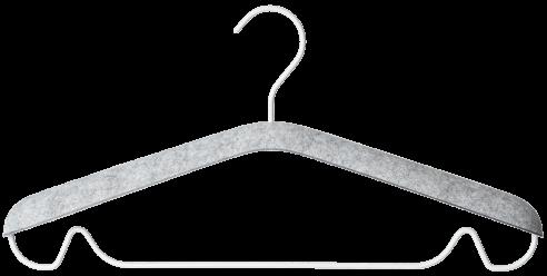 Open Spaces clothes hangers, set of 10