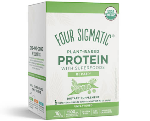 Four Sigmatic protein packets