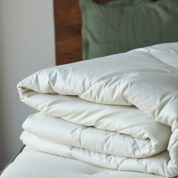 Avocado Green Mattress Alpaca Duvet Insert