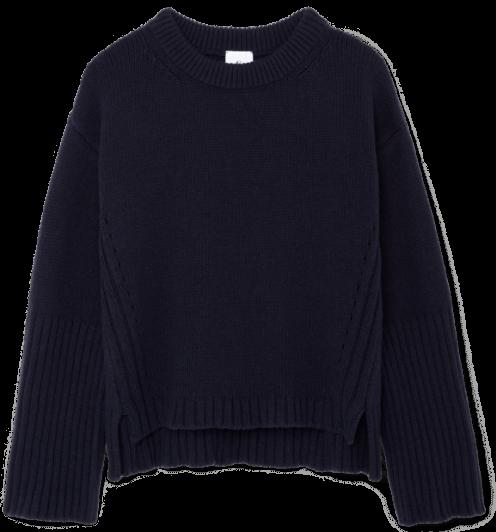 G.Label VAN NICE high cuff crewneck Sweater
