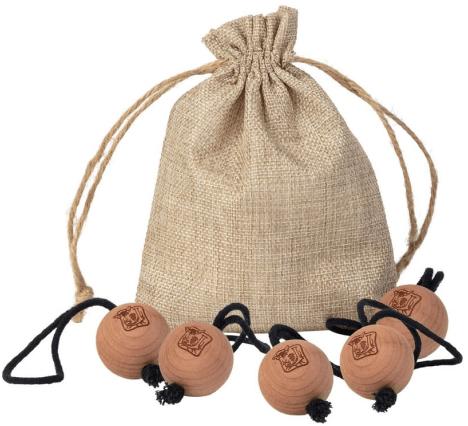 Johnston's of Elgin cedar wood balls