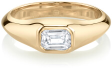 Lizzie Mandler pinky ring