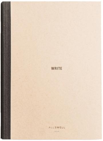 Allswell Notebook 1, goop, $23