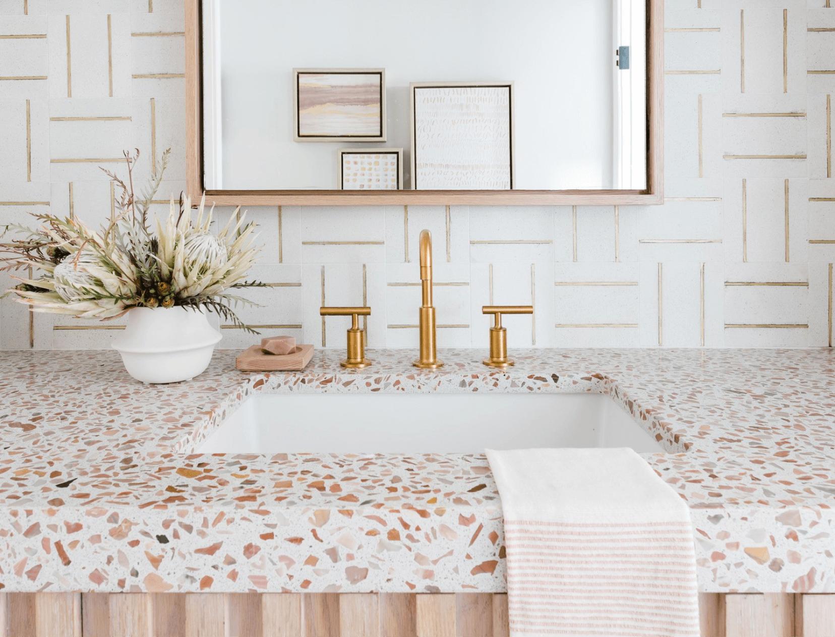 Concrete Collaborative bathroom