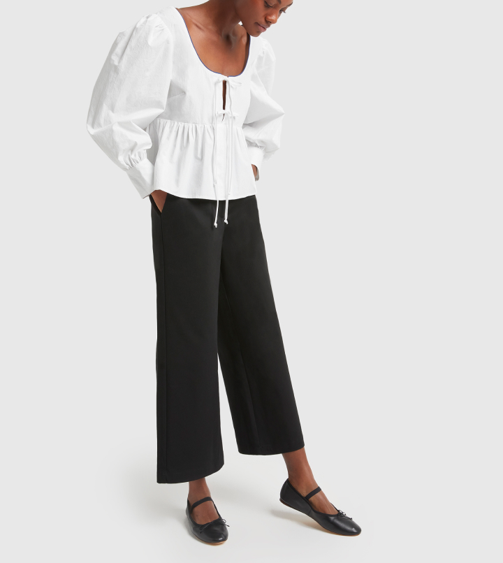 woman in CIAO LUCIA PANTS
