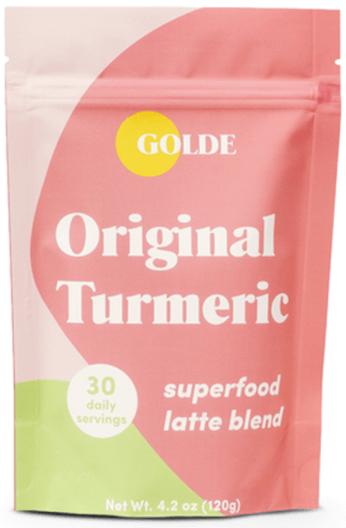 GOLDE Original Turmeric Latte Blend, goop, $29