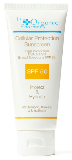 The Organic Pharmacy Cellular Protection Sun Cream SPF 50, goop, $69