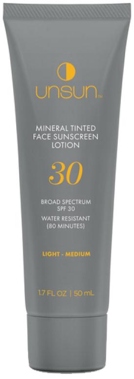 Unsun Mineral Tinted Face Sunscreen