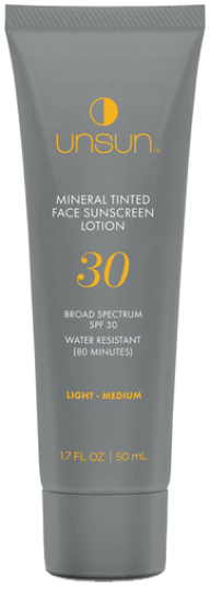 Unsun Mineral Tinted Face Sunscreen, goop, $29