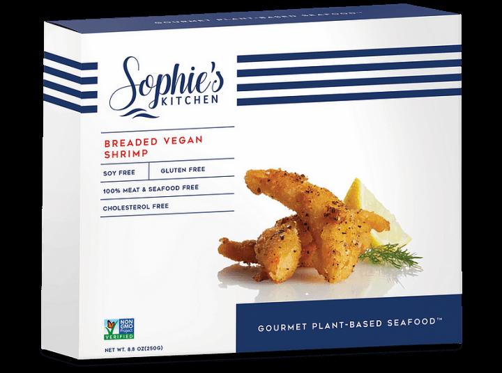 Sophie's Kitchen Breaded Vegan Shrimp