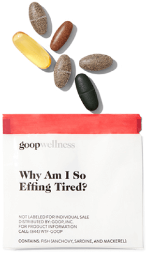 goop Wellness Why Am I So Effing Tired?, goop, $90/$75 with subscription