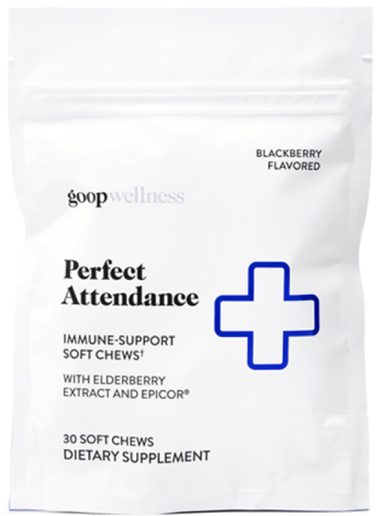 goop Wellness Perfect Attendance, goop, $55 for 60 chews/$30 for 30 chews