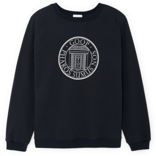 G. Label Men's goop University Sweatshirt