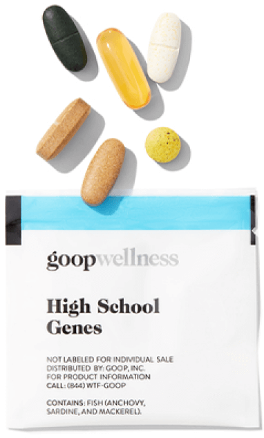 goop Wellness High School Genes, goop, $90/$75 with subscription