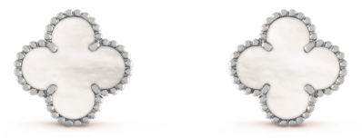 Van Cleef & Arpels stud earrings Van Cleef & Arpels, $5,550