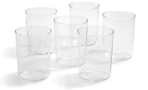 Trendglas JenaNarrow German Glass Cup, Set of 6
