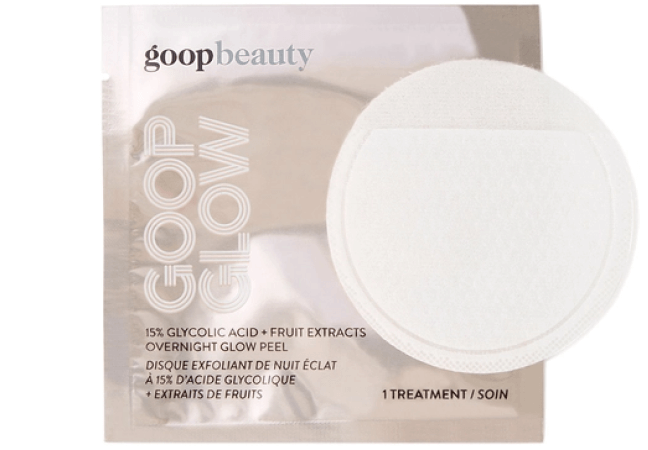 goop Beauty GOOPGLOW 15% Glycolic Acid Overnight Glow Peel goop, $125/$112 with subscription