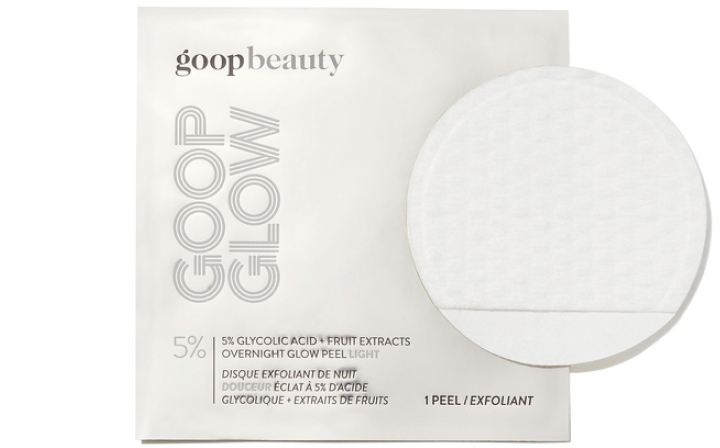 goop Beauty GOOPGLOW 5% Glycolic Acid Overnight Glow Peel, goop, $125/$112 with subscription