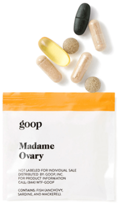 goop Wellness Madame Ovary, goop, $90/$75 with subscription