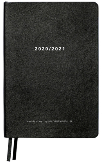 An Organised Life weekly diary goop, $35