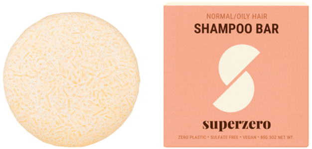 Superzero Shampoo Bar for Normal/Oily hair, $18