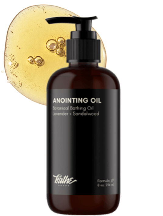 Bathe Anointing Oil in Lavender + Sandalwood
