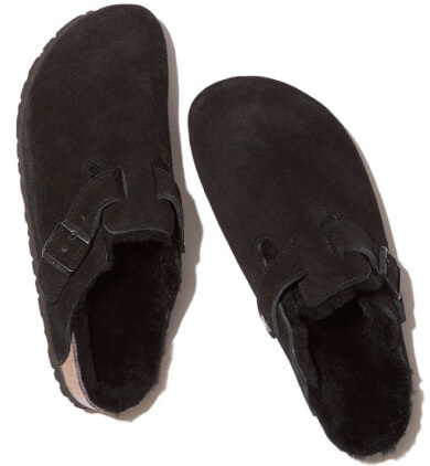 Birkenstock Boston shearling-lined