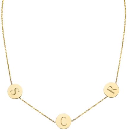 Sarah Chloe Necklace goop, $240