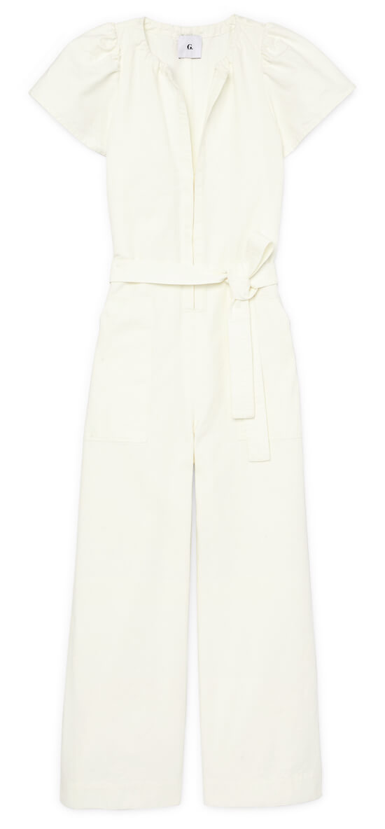 Cady Puff Sleeve Jumpsuit
