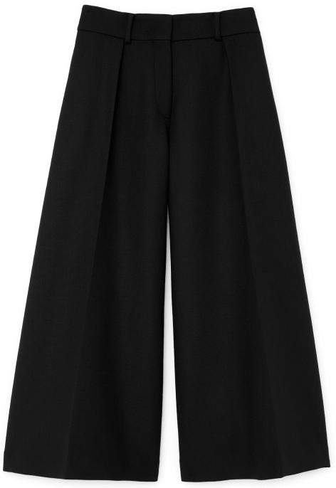 G. Label Caleb Wide-leg pleated culottes