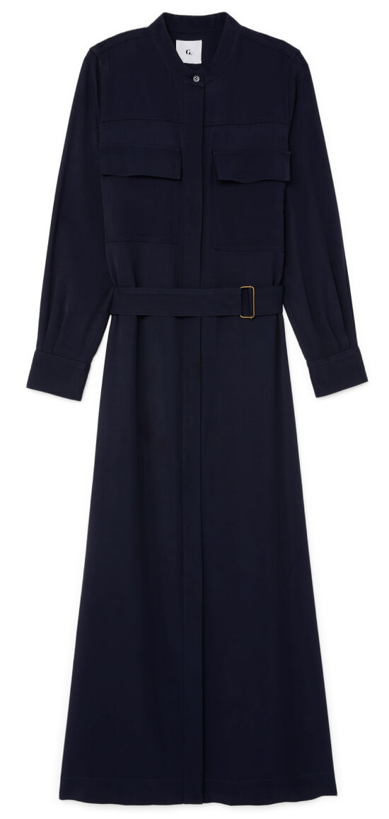 Raffa Mid-Length Shirtdress