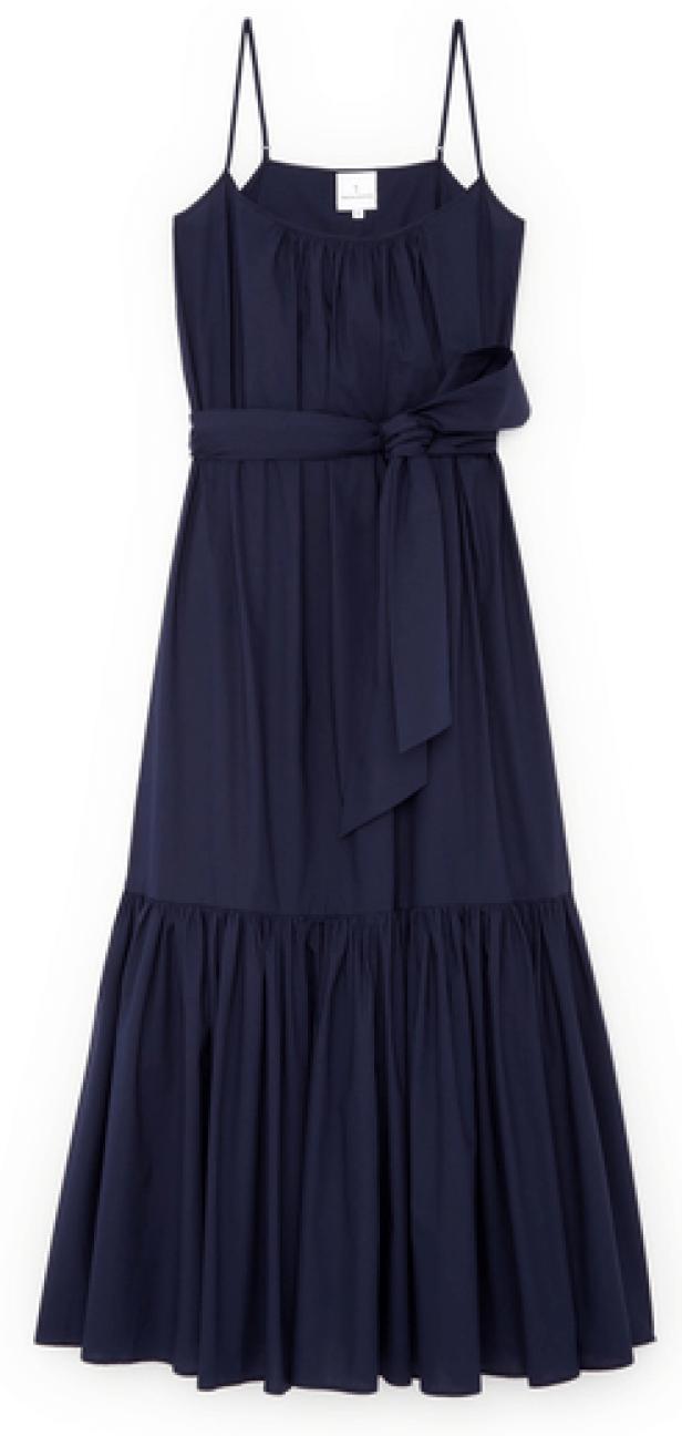G. Label x Tabitha Simmons Capri Skinny-strap dress