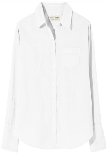 Nili Lotan shirt goop, $295