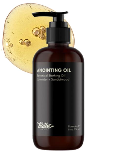 Bathe Anointing Oil Lavender + Sandalwood Botanical Bathing Oil