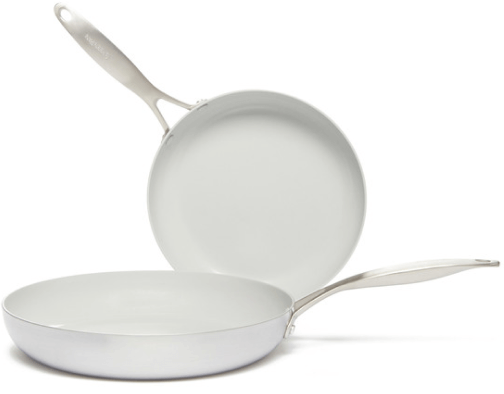 GreenPan Venice Pro Ceramic Nonstick Frypan Set of 2, 10″ + 12″