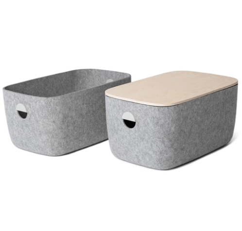 Open Space Large Storage Bins, Set of 2