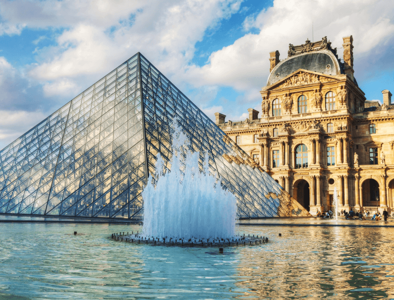 The Louvre ADVENT OF THE ARTIST
